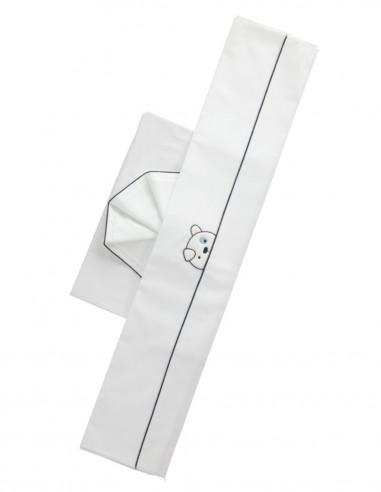 Pantaloncino lino blu