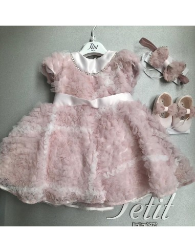 Abito nuvola rosa Petit